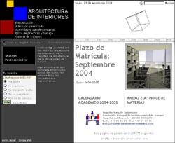 Universidad de burgos arquitectura de interiores dise o for Universidades para diseno de interiores